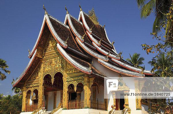 Tempel in Luang Prabang  Laos  Südostasien