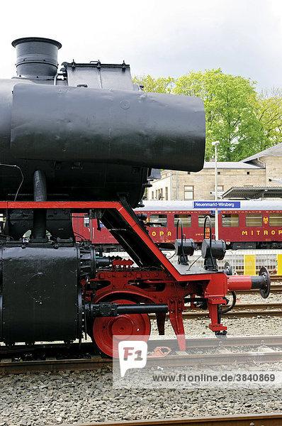 Dampflok  Deutsches Dampflokomotiv-Museum  Neuenmarkt  Franken  Bayern  Deutschland  Europa