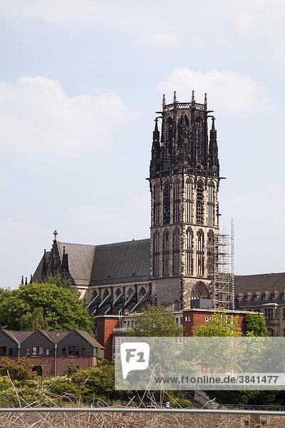 Salvatorkirche  Duisburg  Ruhrgebiet  Nordrhein-Westfalen  Deutschland  Europa Salvatorkirche, Duisburg, Ruhrgebiet, Nordrhein-Westfalen, Deutschland, Europa
