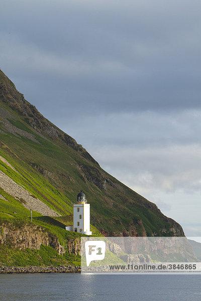 Leuchtturm  Jura  Schottland  Großbritannien  Europa