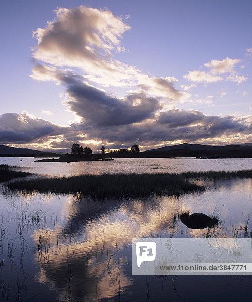 Loch Ba  Rannoch Moor  Highlands  Schottland  Großbritannien  Europa