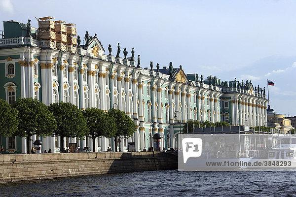 Eremitage  Winterpalast  Russland  Europa  St. Petersburg  Europa