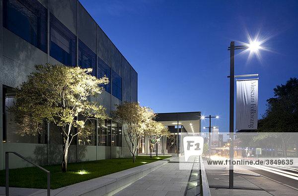 Museum Folkwang  Neubau von David Chipperfield  Essen  Ruhrgebiet  Nordrhein-Westfalen  Deutschland  Europa