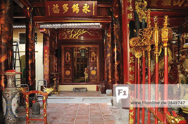 Bach Ma Tempel  Hanoi  Vietnam  Südostasien