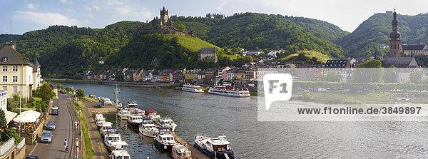 Cochem an der Mosel  Rheinland-Pfalz  Deutschland  Europa