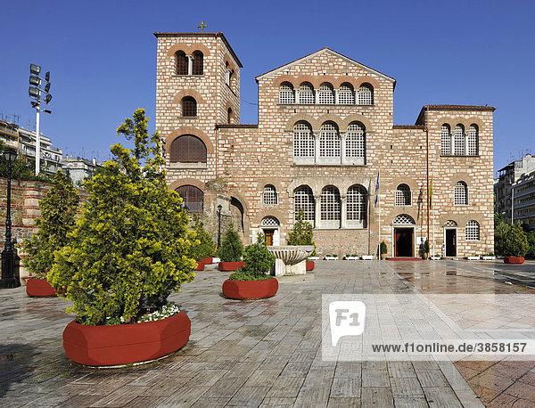Kathedrale Agios Dimitrios  auch Hagios Demetrios  Thessaloniki  Chalkidiki  Makedonien  Griechenland  Europa