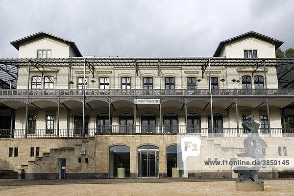 Museum Bahnhof Rolandseck  Remagen  Rheinland  Nordrhein-Westfalen  Deutschland  Europa