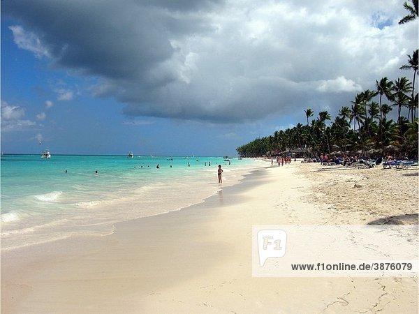 Dominican Republic Punta Cana Bavaro Beach  Caribbean Sea