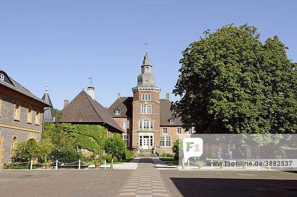 Schloss Sandfort  Olfen  Nordrhein-Westfalen  Deutschland  Europa