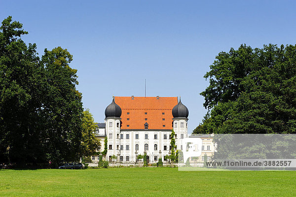 Schloss Maxlrain bei Tuntenhausen  Oberbayern  Bayern  Deutschland  Europa
