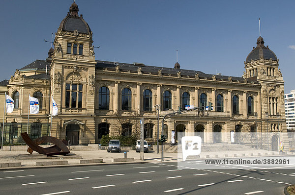 Historic Stadthalle  civic hall  Wuppertal  Bergisches Land area  North Rhine-Westphalia  Germany  Europe