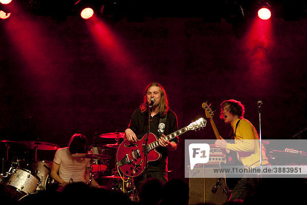 The Swiss pop band Sheila She Loves You  live at the Schueuer Concert Hall  Lucerne  Switzerland
