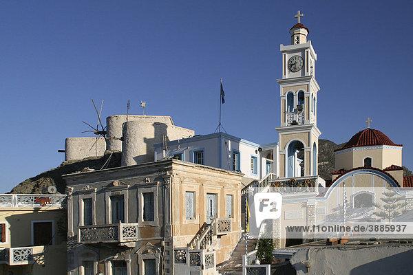 Olympos  Insel Karpathos  Ägäische Inseln  Ägäis  Dodekanes  Griechenland  Europa