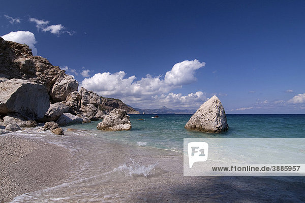 Bucht Kato Lakkos  Ostküste  Insel Karpathos  Ägäische Inseln  Ägäis  Dodekanes  Griechenland  Europa