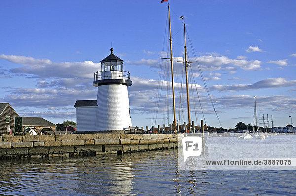 Mystic Seaport Freilichtmuseum für maritime Geschichte  Connecticut  New England  USA