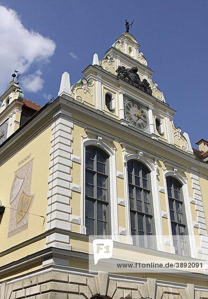 Altes Rathaus  Ingolstadt  Bayern  Deutschland  Europa
