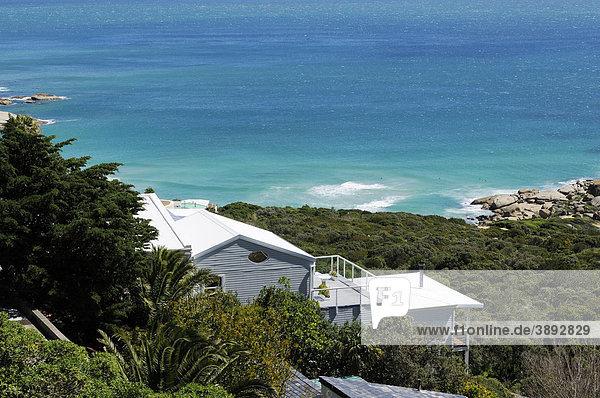 Haus  Bucht von Llandudno  Kapstadt  Westkap  Südafrika  Afrika