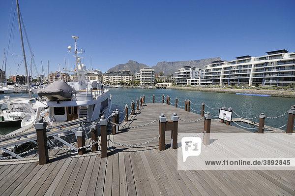 V & A Waterfront  Marina  Residential  Apartments nahe Two Oceans Aquarium  Kapstadt  Westkap  Südafrika  Afrika