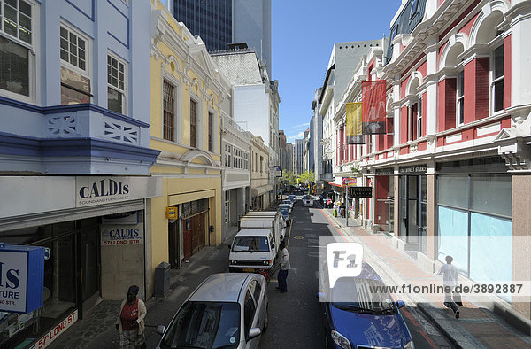 Caldis House  Long Street  Kapstadt  Südafrika  Afrika