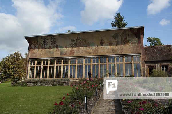 Kloster Bronnbach  Orangerie  Taubertal  Baden-Württemberg  Deutschland  Europa