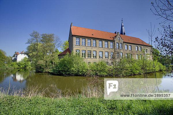 Burg Lüdinghausen  Lüdinghausen  Münsterland  Nordrhein-Westfalen  Deutschland  Europa