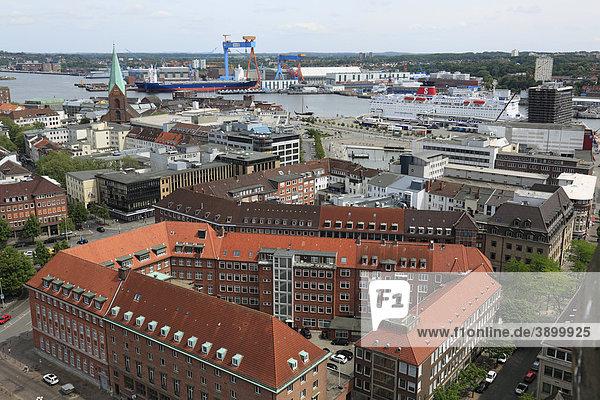 Kieler Förde  Kiel  Deutschland