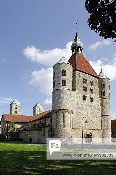 Stiftskirche Freckenhorst  Warendorf  Nordrhein-Westfalen  Deutschland  Europa