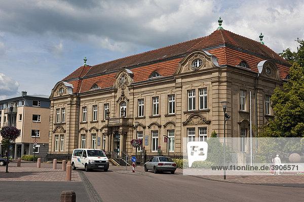 Rathaus  Kirchplatz  Altstadt  Bad Arolsen  Hessen  Deutschland  Europa