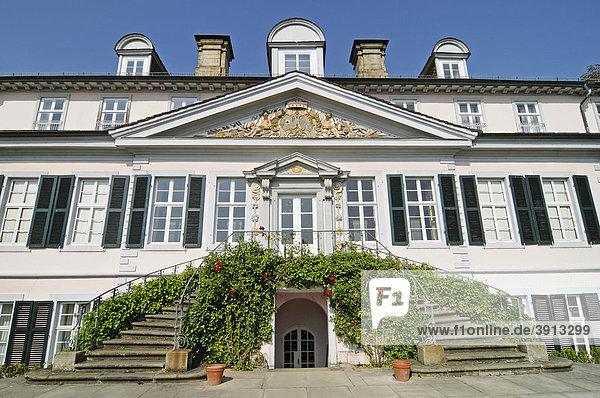 Schloss  Festung  Klassizismus  Museum  Bad Pyrmont  Niedersachsen  Deutschland  Europa