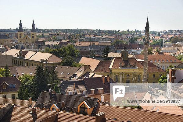Cityscape  Minaret  Eger  Hungary  Europe