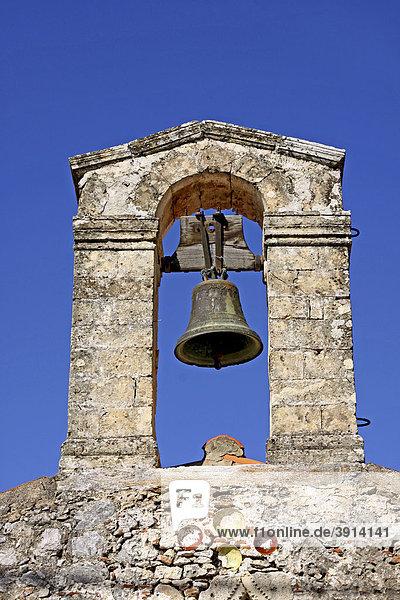 Glockenturm  Agios Joannis Kirche  Axos  Kreta  Griechenland  Europa