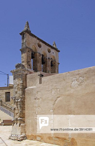 Kirche  Mesi  Bergdorf  Kreta  Griechenland  Europa