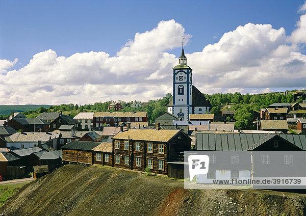 Roros  Bergwerkstadt  Norwegen  Skandinavien  Europa