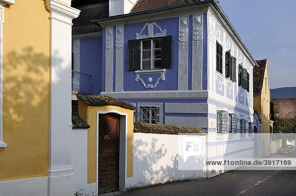 Weinbauernhof Rossatz  Wachau  Niederösterreich  Österreich  Europa