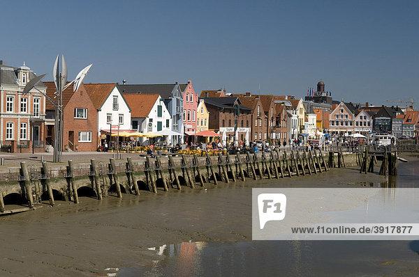 Binnenhafen,  Husum,  Nordfriesland,  Schleswig-Holstein,  Deutschland,  Europa