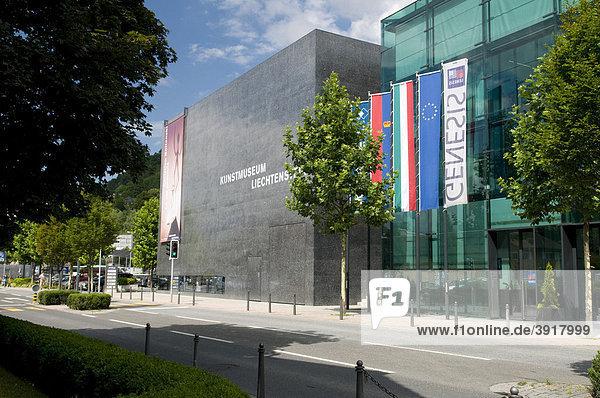 Kunstmuseum  Vaduz  Fürstentum Liechtenstein  Europa
