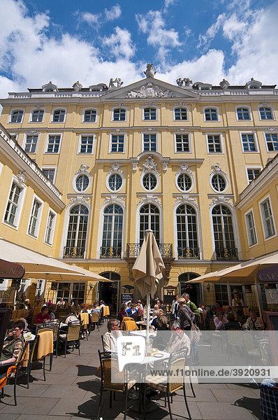 Coselpalais  Altstadt  Dresden  Sachsen  Deutschland  Europa