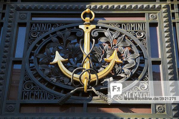 Goldener Anker am Ankerhaus  Wien  Österreich  Europa