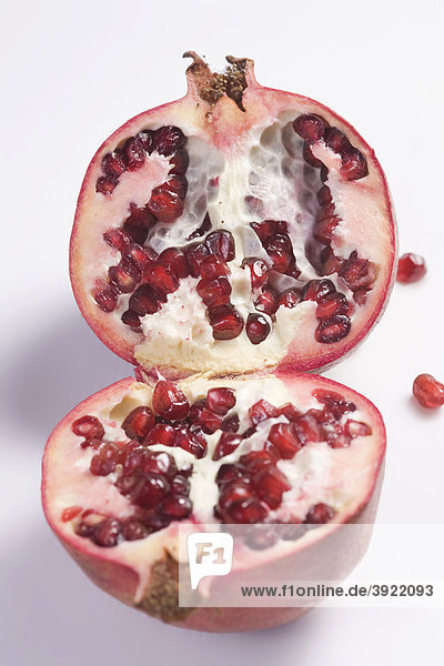 Halbierter Granatapfel