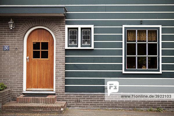 Detail eines niederländischen Landhauses