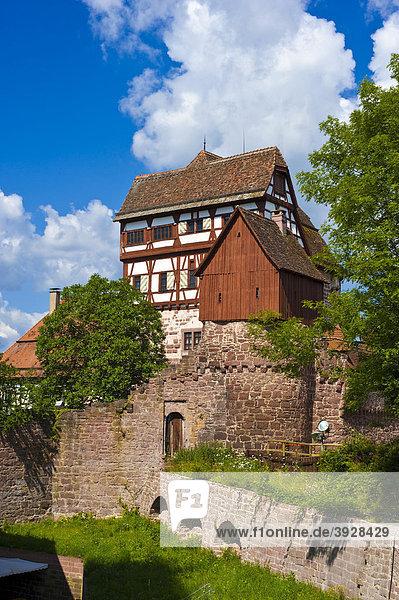 Altes und Neues Schloss  Altensteig  Schwarzwald  Baden-Württemberg  Deutschland  Europa
