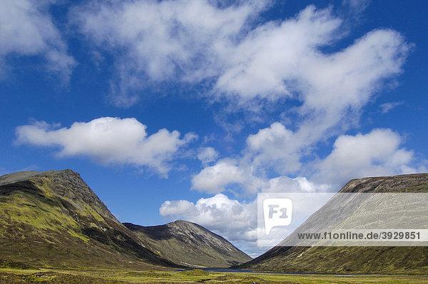 Cuillins Hills  Isle of Skye  Western Highlands  Schottland  Vereinigtes Königreich  Europa