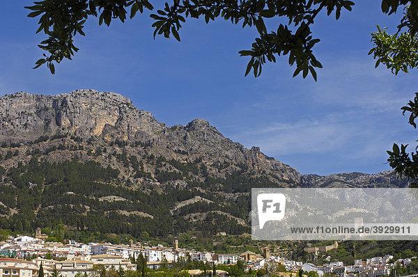 Dorf Cazorla  Sierra de Cazorla  Segura y Las Villas Naturpark  Provinz JaÈn  Andalusien  Spanien  Europa