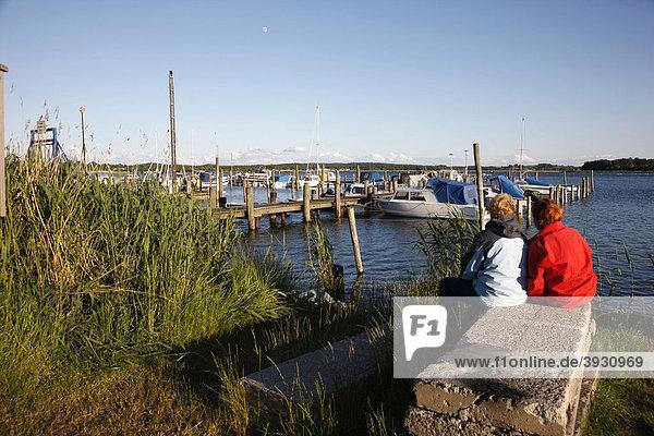 Selliner See bei Sellin  Insel Rügen  Mecklenburg-Vorpommern  Deutschland  Europa
