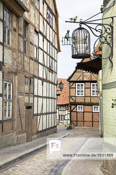 Schlossberg  Quedlinburg  Saxony-Anhalt  Germany  Europe Schlossberg, Quedlinburg, Saxony-Anhalt, Germany, Europe