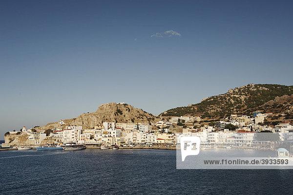 Hafen von Pigadia  Insel Karpathos  Ägäische Inseln  Ägäis  Dodekanes  Griechenland  Europa