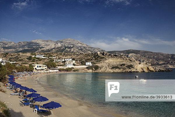 Strand Gialou Chorafi  Lefkos  Insel Karpathos  Ägäische Inseln  Ägäis  Dodekanes  Griechenland  Europa