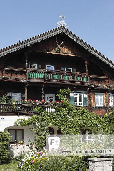 Altes Bauernhaus in Johann in Tirol  Österreich  Europa