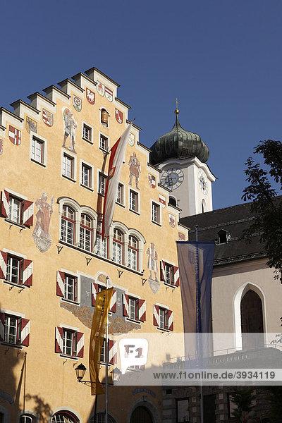 Rathaus  Kufstein  Tirol  Österreich  Europa
