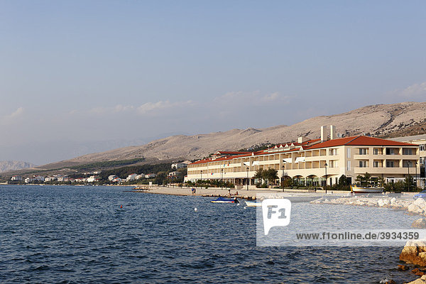 Hotel Pagus in Pag  Insel Pag  Dalmatien  Adria  Kroatien  Europa